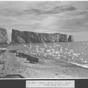 Cover image of Canada. Gaspe District . Perce. Scene along the shore / CN240