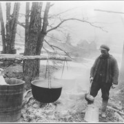 Cover image of Canada. Boiling maple sap / CN223