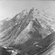Cover image of Illecillewaet Valley and Loop from Observation Point, Glacier B.C. / On Line of Canadian Pacific Railway. 19-105