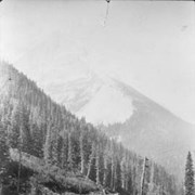 Cover image of Ross Peak and Snow Shed 22, Glacier B.C  / On Line of Canadian Pacific Railway. 19-106