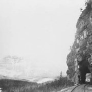 Cover image of Tunnel on Mt. Stephen, near Field B.C./ On Line of Canadian Pacific Railway. 18-20