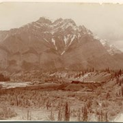 Cover image of Anthracite and Cascade Mountain from Hoodoos, Alba / On Line of Canadian Pacific Railway. 16-42