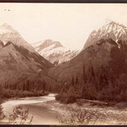 Cover image of 346. Leanchoil Mts. and Wapta River, B.C. / Canadian Pacific Railway