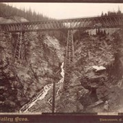 Cover image of 639. Stoney Creek Bridge, C.P.R., Selkirks, height 296 ft.