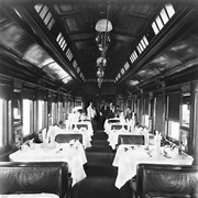 "Cover image of Dining car ""Buckingham"" CPR (No.3). 7/3/94"