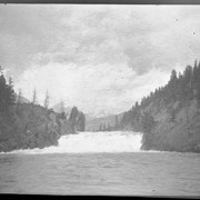 Cover image of Falls of the Bow River from below (No.836)