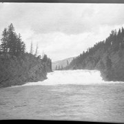 Cover image of Falls of the Bow River from below (No.842)