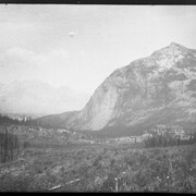 Cover image of Banff, the Bow Valley showing CPR Hotel and Mount Rundel