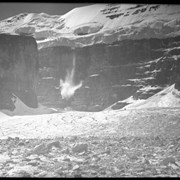Cover image of Falling Avalanche from Mt. Victoria, Lake Louise