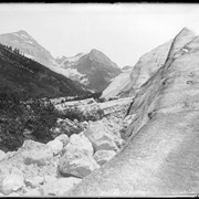 Cover image of Private 2543m, first picture Illecillewaet Glacier, reproduced negative 1909, 10369 trip, Mary Vaux 1887