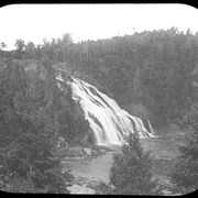 Cover image of Falls of Rivier du Loup near St. Lawrence River Canada (no.59)