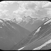 Cover image of Fish Valley from Asulkan Pass, panorama (No. 83) 7/30/97