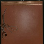 Cover image of Helen (Fulmer) Wells scrapbook