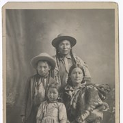 Cover image of Jonas and Libby Benjamin with their children Joseph and Hanna