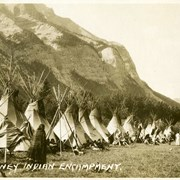 Cover image of 500. Stoney Indian Encampment