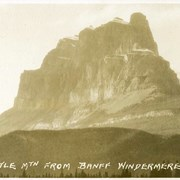 Cover image of 597. Castle Mtn. from Banff Windermere Rd.