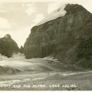 Cover image of 583. Mt. Lefroy and the Mitre, Lake Louise