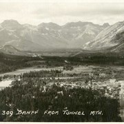 Cover image of 309. Banff From Tunnel Mountain