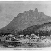 Cover image of Silver City and Castle Mountain, Rocky Mountains
