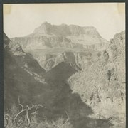 "Cover image of ""Bright Angel trail just above the granite."""
