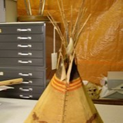 Cover image of Miniature; Model Teepee