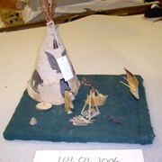 Cover image of Miniature Teepee