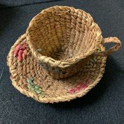 Cover image of Basketry Cup And Saucer