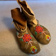 Cover image of Beaded Moccasins
