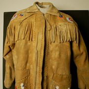Cover image of Native; Beaded Jacket