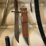 Cover image of Bowie Knife