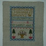 Cover image of Cross Stitch Sampler