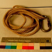 Cover image of  Carabiner; Rope