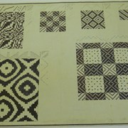 Cover image of Untitled (weaving patterns)