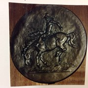 Cover image of Saddle Bronc Rider Banff Indian Days Coin Model