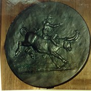 Cover image of Bull Rider Banff Indian Days Coin Model