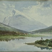 Cover image of Mt. Rundle, Vermilion Lakes, Banff, N.W.T.