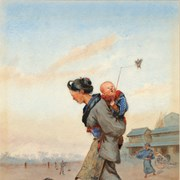 Cover image of Japanese Woman and Child