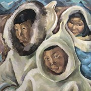 Cover image of Eskimo Children II, Resolute Bay, N.W.T.