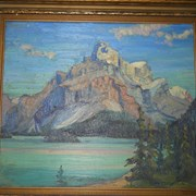 Cover image of Mount Warren, Maligne Lake