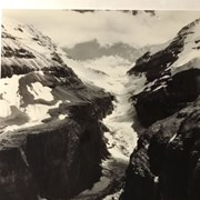 Cover image of Abbot Pass from Upper Victoria Glacier