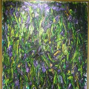 Cover image of Purple Woods I