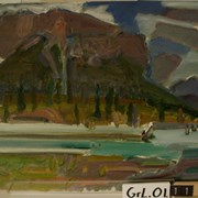 Cover image of Kootenay Plains/Mountain Study #7