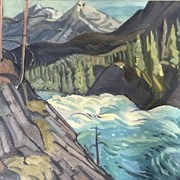 Cover image of Above Bow Falls