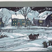 Cover image of Sleigh and Village