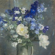 Cover image of Larkspur and Peony