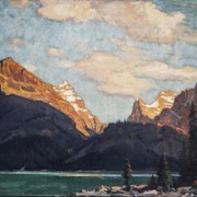 Cover image of Evening, Lake O'Hara