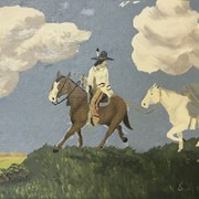 Cover image of Rider Leading Packhorse