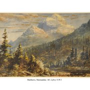 Cover image of Mount Lefroy N.W.T.