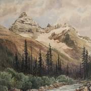 Cover image of Mt. Sir Donald and IIllecillewaet River Glacier, B.C.