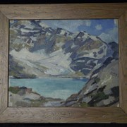 Cover image of Untitled (Study for Lake McArthur)